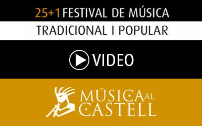 Video dels concerts realitzats a la Plaça del Consell i al Castell.