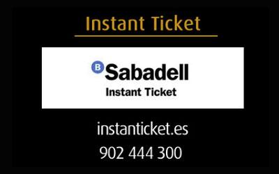 Pots comprar les entrades en Instanticket