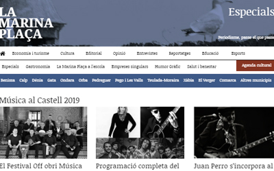 Informació sobre les vetllades en el festival 'Música al Castell'