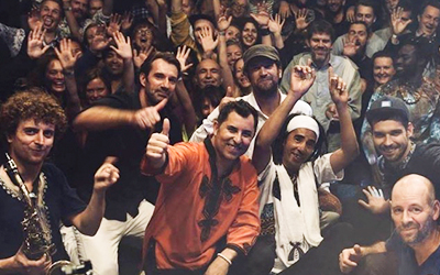 El sábado 20 de julio, el grupo Gabacho Maroc.