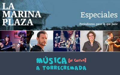 Apartado Especiales destinado al Festival de Música al Castell