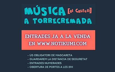Programació de l'Festival Música a l'Castell 2021