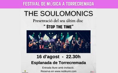 Confirmada la actuación de THE SOULOMÓNICS para el 16/8/21