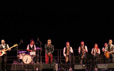 The Soulmonics reúne a 400 espectadores en el cierre de Música…